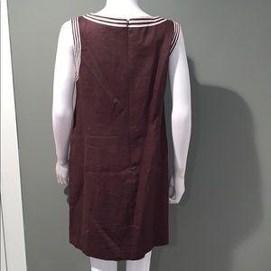 Michael Kors Dresses - Michael Kors WOMANS brown linen dress SZ.12